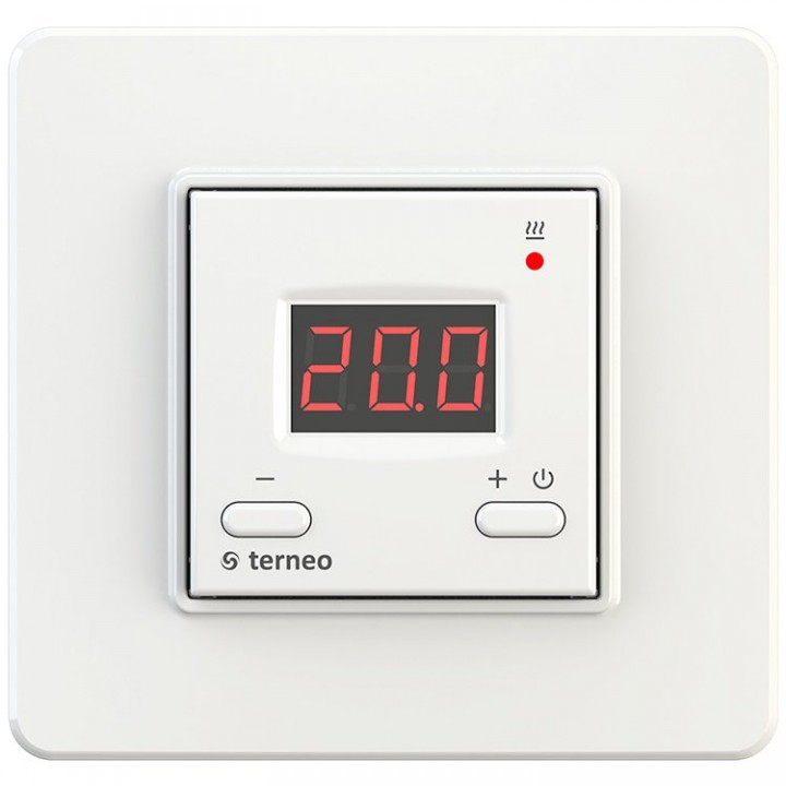 terneo vt, белый - терморегулятор для ИК-обогревателей